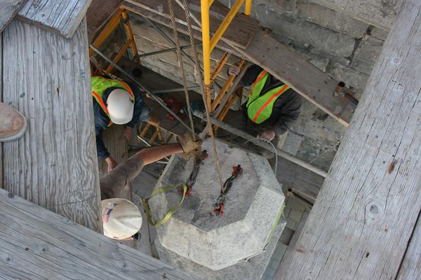 Granite Restoration - Loring & Son Masonry Restoration Inc.